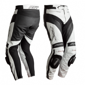 RST Tractech Evo 4 CE White Leather Jeans